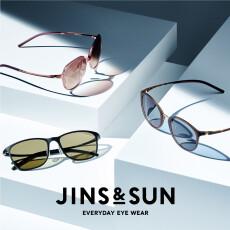 新サングラスブランド「JINS&SUN」のシーズン到来!