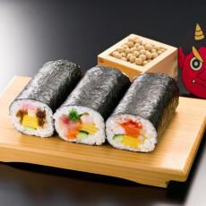 2月2日(火) あざみ野東急フードショースライスの節分・恵方巻(惣菜)