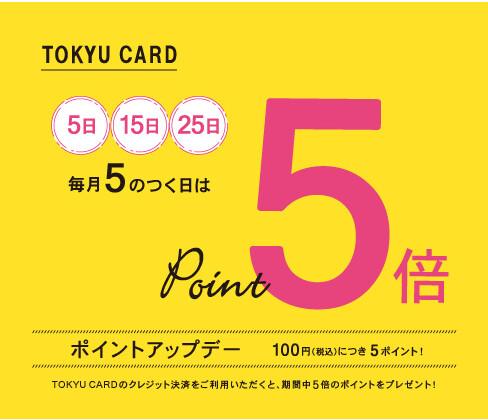 東急カードポイントアップキャンペーン 武蔵小山